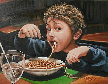 Spaghetti Boy by Melinda Saminski