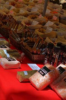 Spices at the Market by Dany Lison