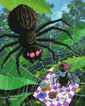 Martin Davey - spider picnic