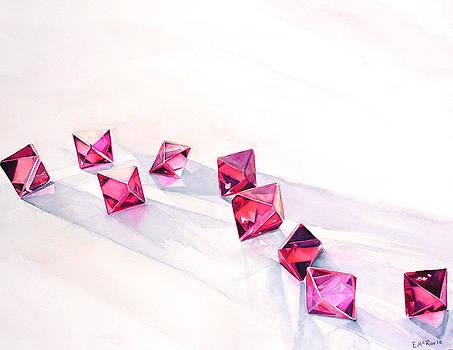 Spinel Crystals  by Elizabeth  McRorie