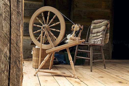 Spinning Wheel by Dave Ross