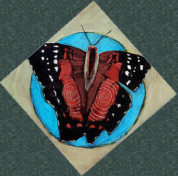Spiral Butterfly VI by Shira Chai