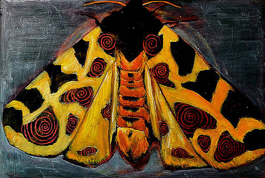 Spiral Butterfly X by Shira Chai