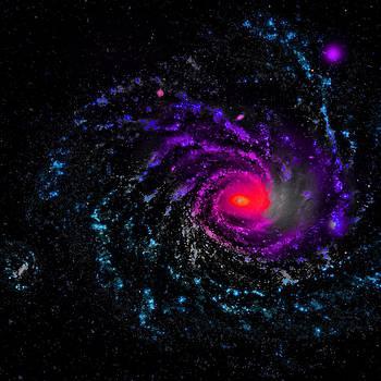 Spiral Galaxy I by Robert Rhoads