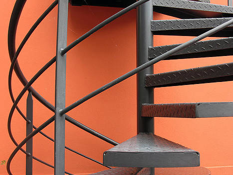 Spiral Staircase by Gerry Bates