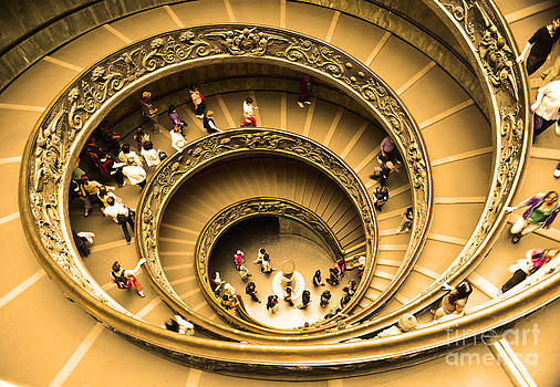 Spiral Staircase by Stefano Senise