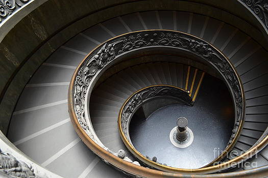 Spiral Stairs of the Vatican by Arthur Hofer