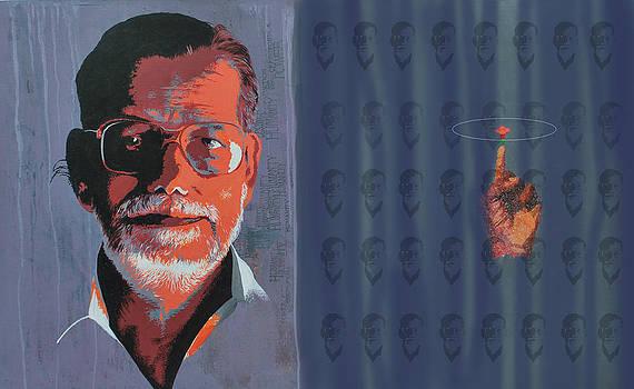 Spirit behind Curtain by Muhamed  Husain