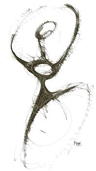 Spirit Of A Dancer1 by Khaya Bukula