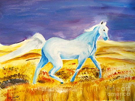Spirit Water Horse by Gina Hyde