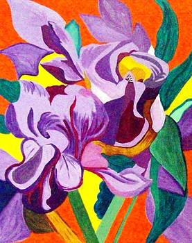 Splash of Colour by Lynette  Swart