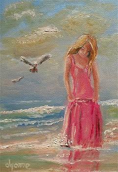 Splash of Pink by Dyanne Parker