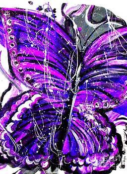 Splash of Purple by Jayne Kerr