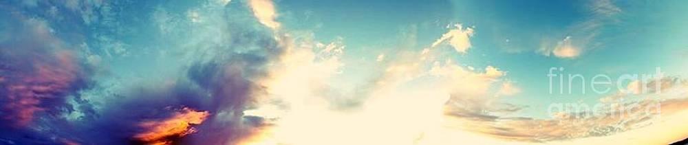Splash of... sky by Saska V