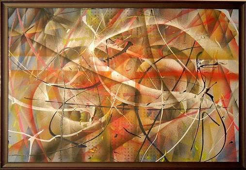 Splatter Hard Edge Number 5 by James Howard