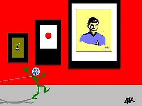 Spock by Ann Kipp