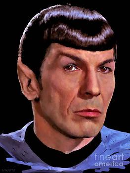 Spock by Stephen Shub