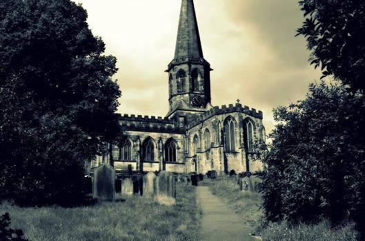 Spooky Church by Karen Kersey