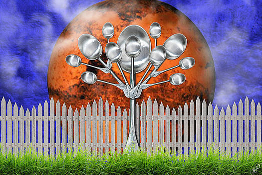 Spoon Tree by Ally  White