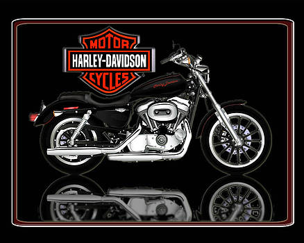 Sportster by HARLEY-DAVIDSON by Michael Lovell