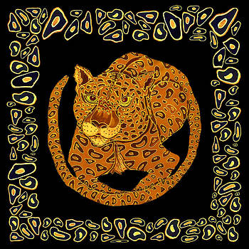Spot Framed Jaguar by Kelly     ZumBerge