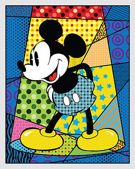 Spotlight Mickey 2 by Gary Grayson