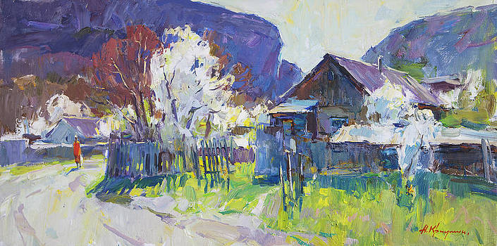 Spring Afternoon by Alexander  Kriushin