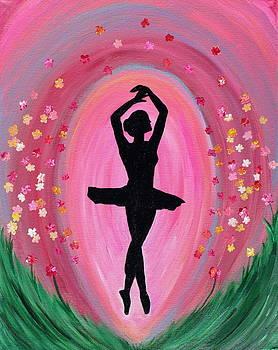 Spring Ballet Dancer by Vicki Kennedy