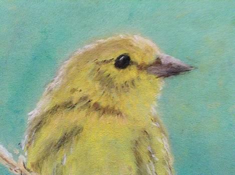 Spring Bird by Lee-Ann Lukacs