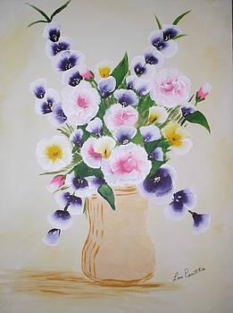 Spring Bouquet by Lois D  Psutka