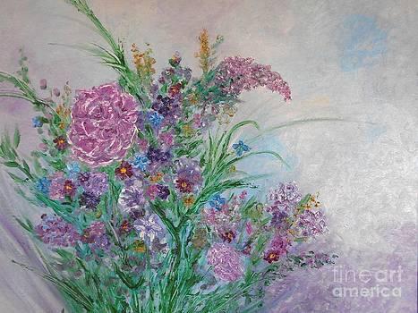 Spring Bouquet by Rhonda Lee