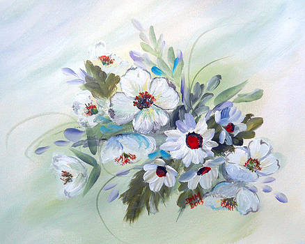 Spring Call in White by Dorothy Maier