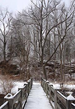 Spring Creek Bridge by Mary Vollero