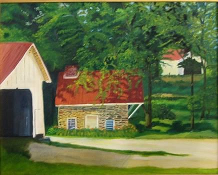 Spring house by Rebecca Jackson