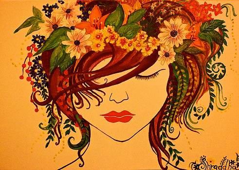 Spring is on my mind by Shraddha Tiwari