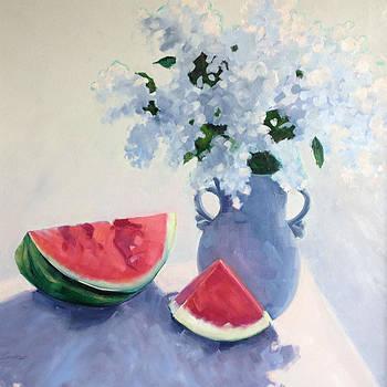 Spring Lilacs by Barbara Benedict Jones