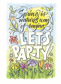 Spring Party by Sally Penley