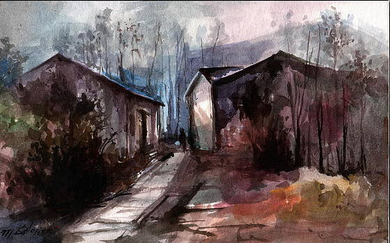 Spring Path by Mikhail Savchenko