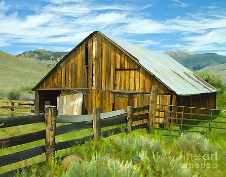 Spring Range Barn by L J Oakes