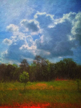 Spring Sky Impressionist by James Corley