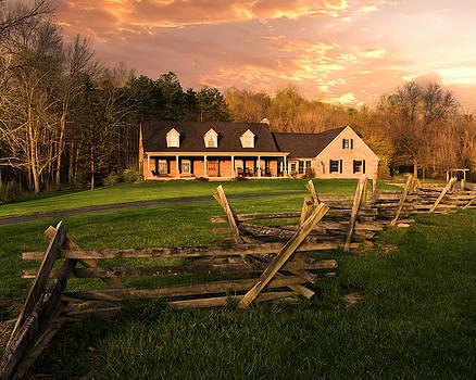 Randall Branham - Spring Sunset