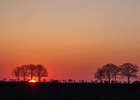 Spring twilight by Frits Selier