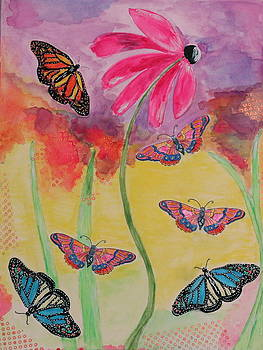 Springtime Butterfly Play by Shakti Chionis