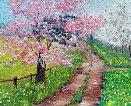 Springtime Road by Meaghan Troup