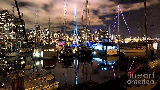 Spruce Harbour Night by Dirk Lightheart