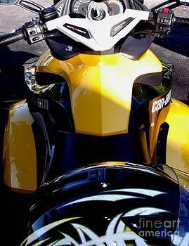 Gail Matthews - Spyder  Motorcycle Cockpit