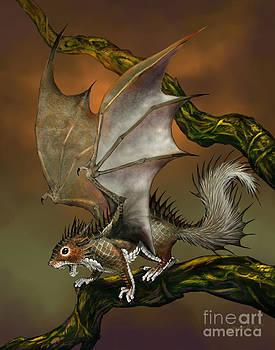 Squirrel Dragon by Stanley Morrison