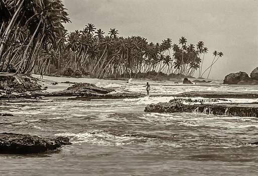 Steve Harrington - Sri Lanka sepia