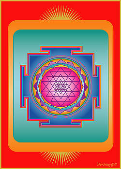 Sri Yantra by Marcy Gold