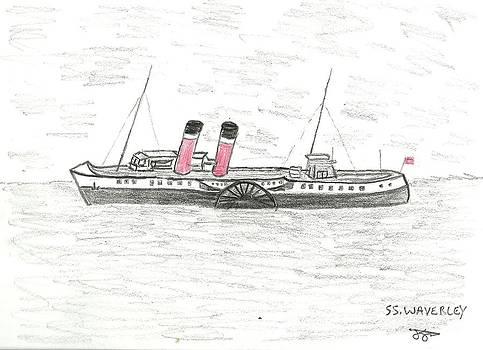 SS Waverley by John Williams